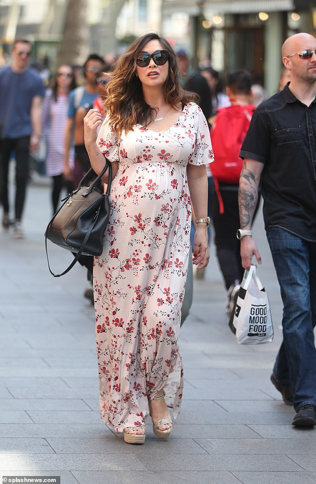 3b0299c362 Myleene Klass is blooming - and more likely to pair classic trends and cuts  with hard