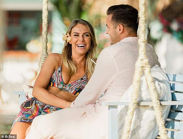 No contact:Florence told Coffs Coast's Hit105.5 that she is no longer on speaking terms with Davey after dumping him in the Paradise finale