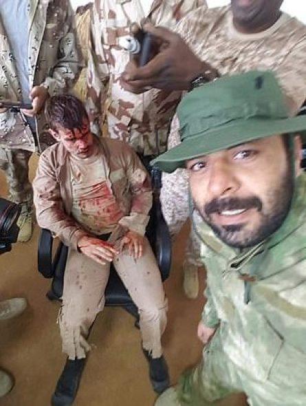 Photos publiées par l'armée nationale libyenne