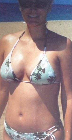 Before, as a vegan, Ms Carter weighed9st 4lb (59kg)