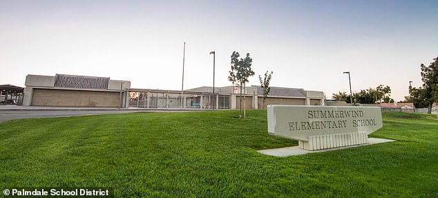 Teachers at Summerwind Elementary School in Palmdale were told to go home on Thursday after protests from parents
