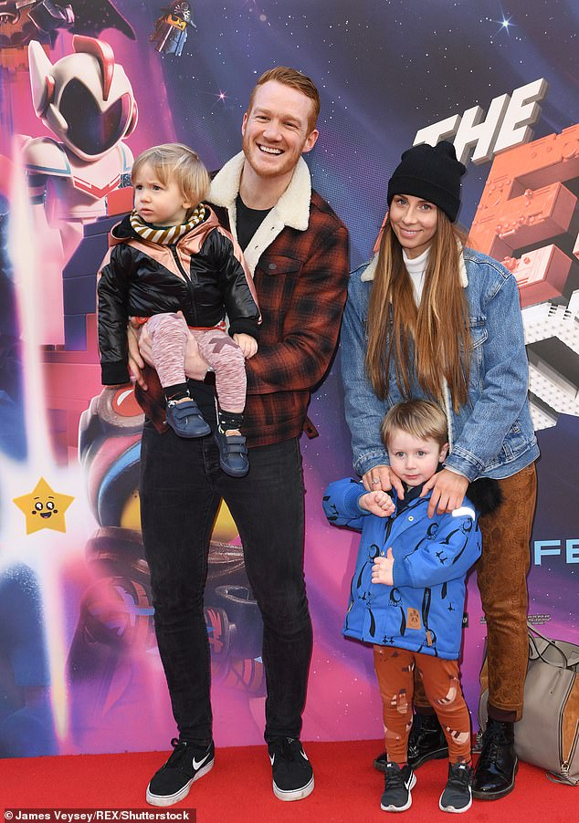 Proud father:Speaking to Hello in 2014, the Olympic Gold medallist confessed that the feeling of becoming a father was far superior to any of his sporting achievements