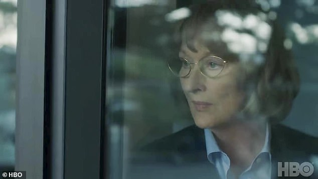 Chills: 'My son is dead, and I want answers,' continued the grieving mother, in a powerhouse scene between two Oscar winning actresses