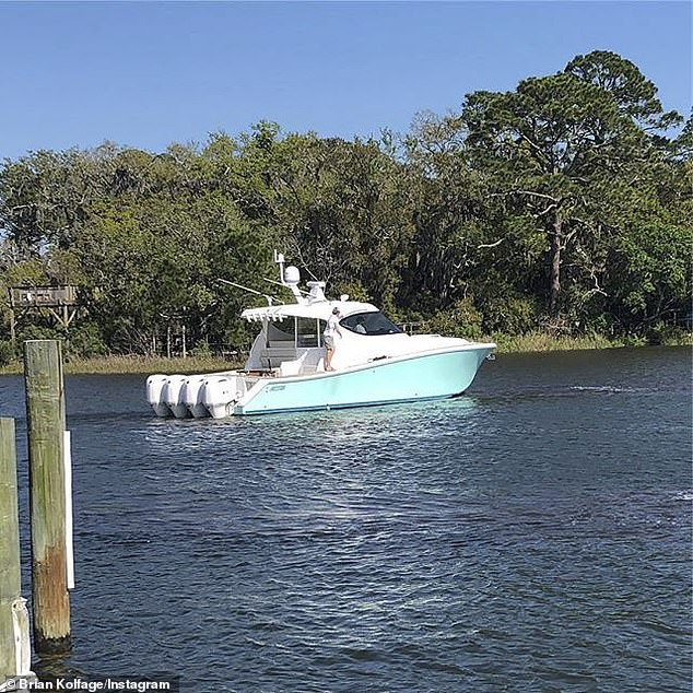 Attention has turned to a $1million yacht he says he bought a year before the GoFundMe page