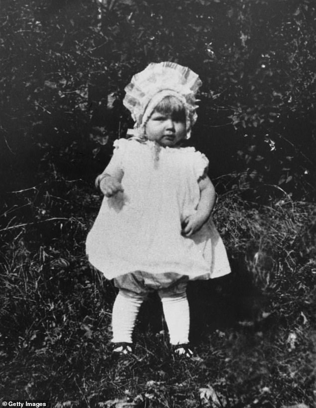 The American actress and singer Doris Day as a toddler, around 1923. (Photo by Phil Burchman / Pictorial Parade / Archive Photos / Getty Images)