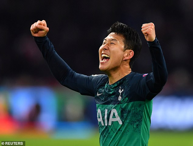 Son Heung-min was an exceptional artist for Tottenham at this time