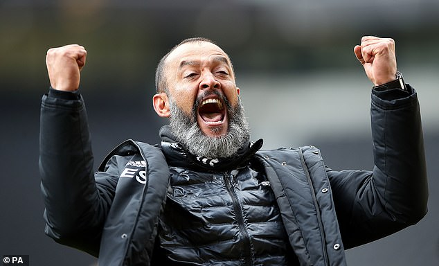 Nuno Espirito Santo brought the newly promoted wolves to a seventh final place