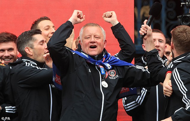 Chris Wilder did miracles in Sheffield United; bringing the club to the maximum