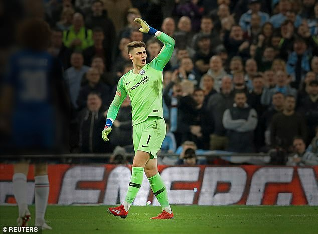 Chelsea goalkeeper Kepa Arrizabalaga refused to be replaced in the Carabao Cup final