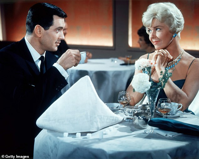 Day and Rock Hudson played together in a series of comedies in the 1950s. Day supported Hudson after his AIDS diagnosis became public at a time when the disease was surrounded by hysteria