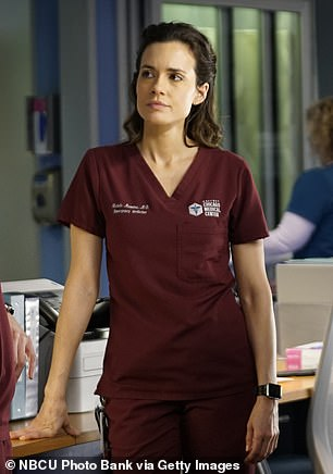 Crossing paths: Torrey plays Doctor Natalie Manning on Chicgao Med