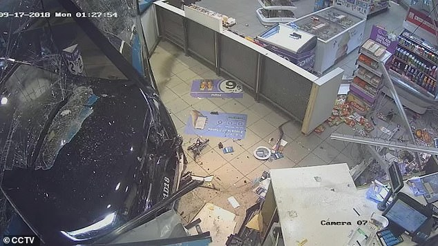 Didier Lam Kee Shau drove his car into a Caltex service station after savagely bashing a woman up outside. The attendant was injured in the attack, which lefts tens of thousands of dollars worth of damage to the business