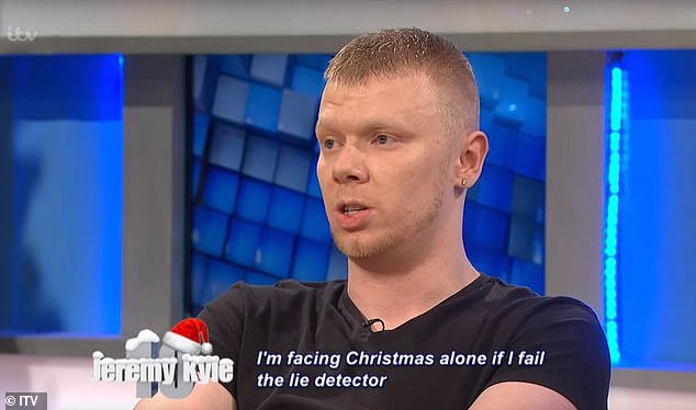 Dwayne Davison, 27, of Nottingham, appeared on The Jeremy Kyle Show five years ago