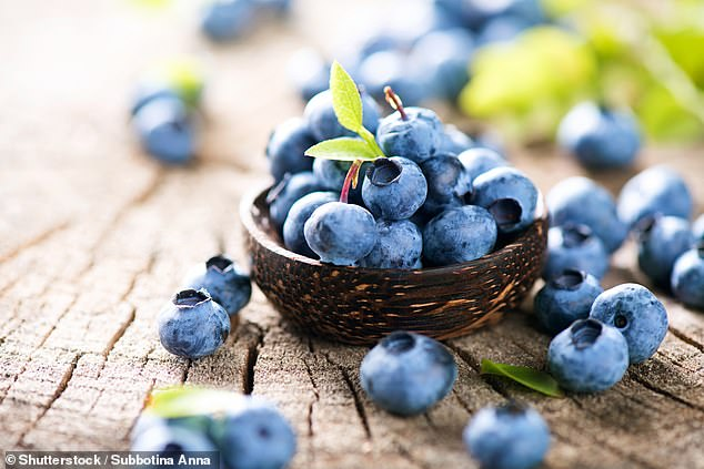 Blueberries also contain compounds called anthocyanins, which may improve some markers of heart disease