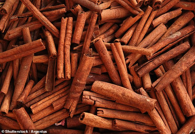 Cinnamon, which contains a compound called cinnamaldehyde, is claimed to aid weight loss and regulate appetite
