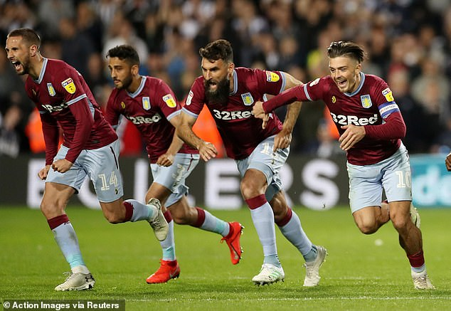 Grealish helped Villa reach the Championship play-off final having scored in the first leg