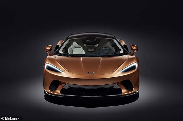 Despite the bigger boot, the McLaren GT can sprint to 60mph in 3 seconds