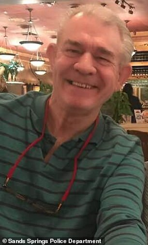 Rodney Puckett, 70, (above) was arrested Monday while driving through Eloy, Arizona, with his wife's naked corpse upside down in the passenger seat