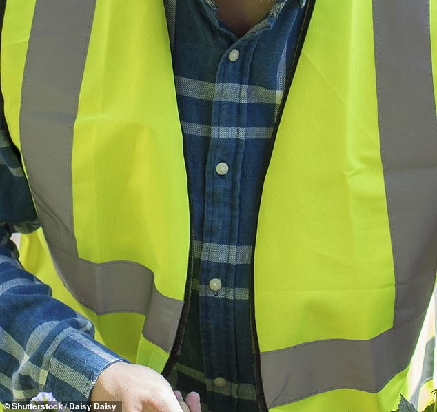 The mother, who has remained anonymous to protect her son's identity, said her son was required to wear a hi-vis vest while in class (stock image)