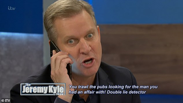 Jeremy Kyle, pictured, registered Hales Media Limited on Tuesday along with his 35-year-old nanny-turned-fiancee Victoria Burton