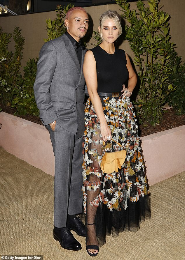 Star-studded:Also attending were the likes of Ashlee Simpson and her husband Evan Ross