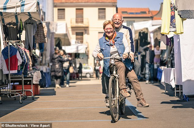 Married people rated their life satisfaction 9.9 per cent higher than widows and widowers, and 8.8 per cent higher than divorced or separated people