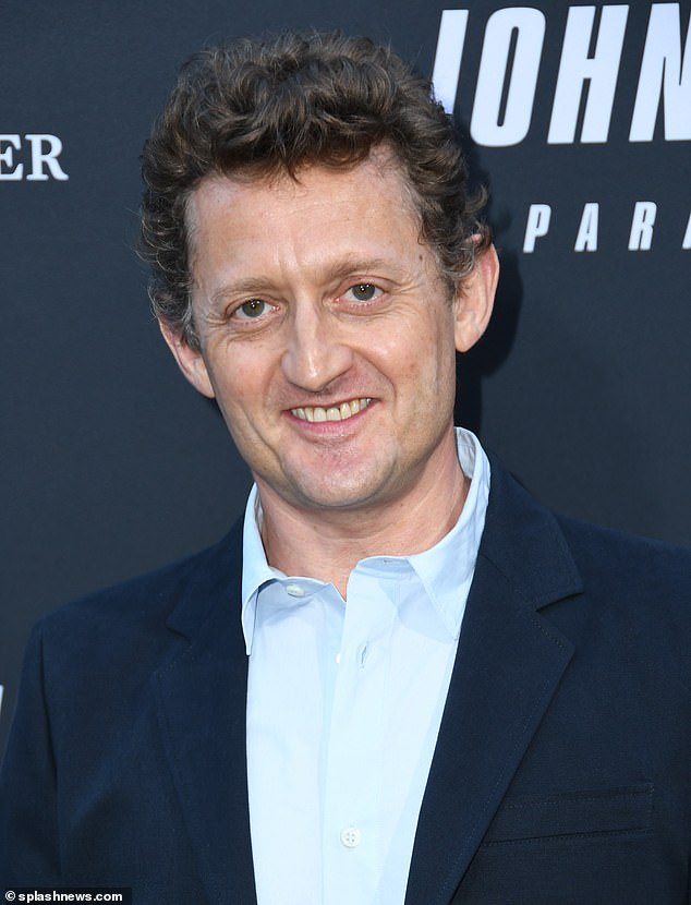 Excellent adventure: Alex Winter who starred with Keanu inthe 1989 film Bill & Ted's Excellent Adventure and its sequel showed his support at the premiere