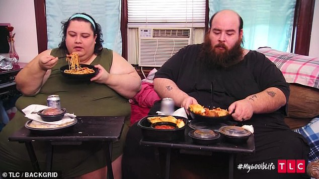 The couple would frequently gorge on ready meals and had a particular penchant for carbs