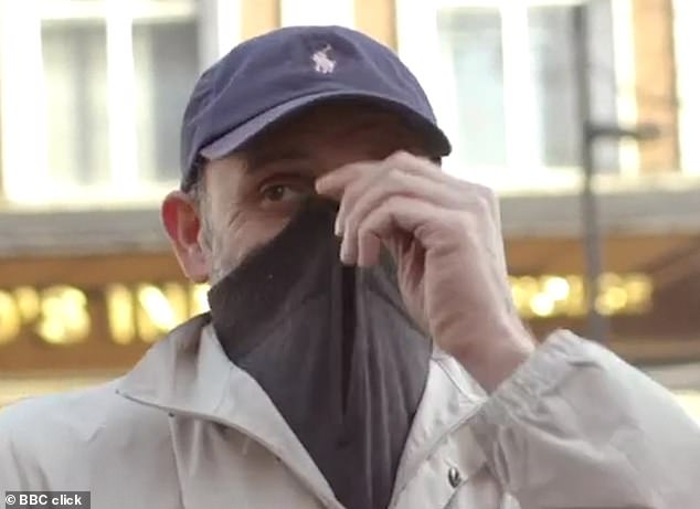 A man was fined £90 in Romford by officers for disorderly behaviour after he tried to cover his face last year during a trial - but the Met says the trials are over and future policing will involve using these cameras