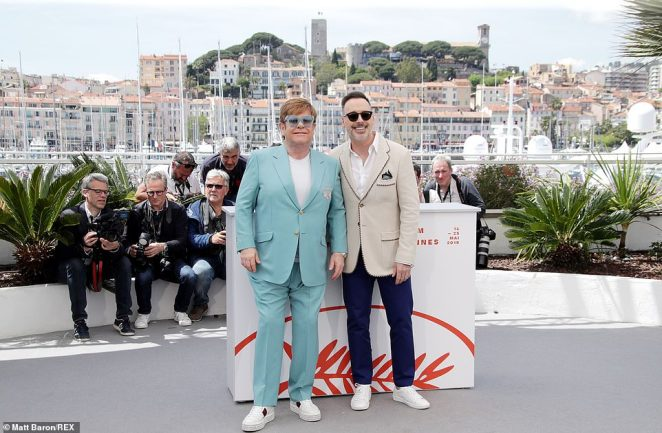 Love of his life: Elton and David have been a power couple for more than 25 years - they entered into a civil partnership in 2005 and after the legalisation of gay marriage in 2014, the pair retroactively converted their civil partnership to a marriage