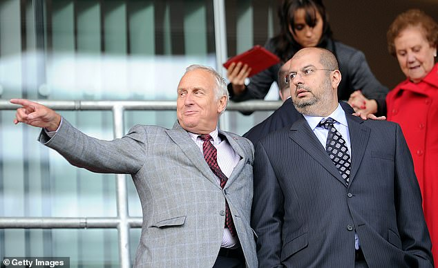 Blades are in court over dispute between co-owners Kevin McCabe (L) and Prince Abdullah (R)