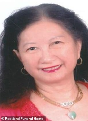 Chemirmir who worked as a home healthcare aide, was initially charged in 2018 with the murder of 81-year-old Lu Thi Harris (pictured)