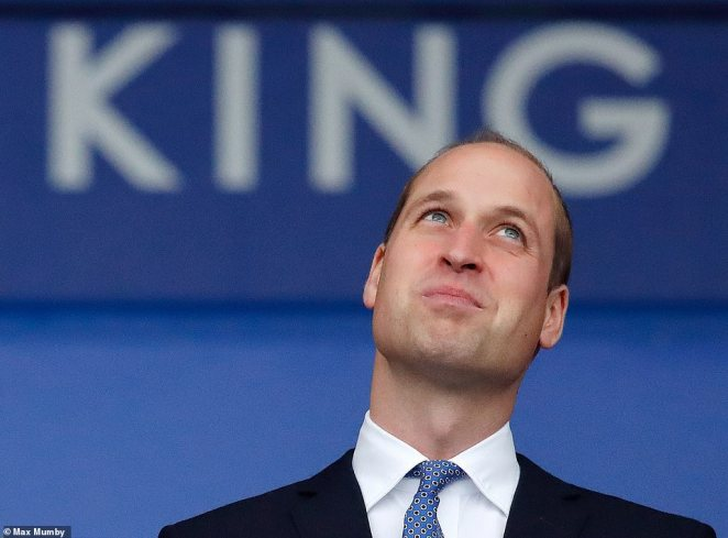 Prince William visits Leicester City Football Club's King Power Stadium to pay tribute following a tragic helicopter crash which killed several including club owner Vichai Srivaddhanaprabha