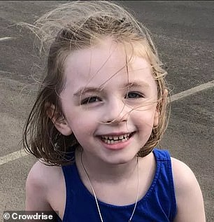 Kaia Ettingoff, five (pictured), of Wayne, Pennsylvania, began getting rashes all over her body in summer 2016 at age two