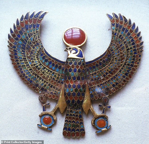 Glass forms naturally when molten material cools so fast that the molecules can not settle into an ordered structure, like a crystal. The glass has been found in ancient jewelery, including a scarab carved from the material which features in pectoral jewelery buried beside Tutankhamun