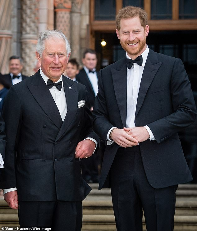 Prince Charles is said to be meeting his new grandson Archie tonight, almost two weeks after Prince Harry's son was born
