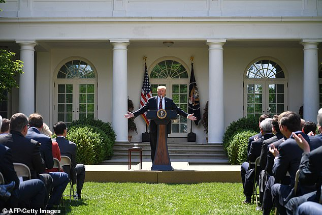 Donald Trump unveiled his ideal immigration plan in a Rose Garden speech Thursday, calling for new criteria and a point-based system for legal entry into the United States