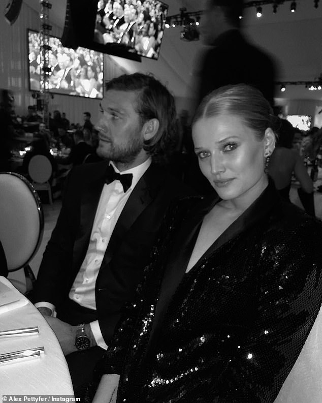 They go way back: In February he tagged Toni in this photo taken at an Oscar party