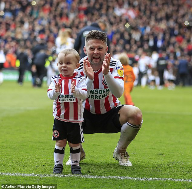 Oliver Norwood will finally play in the Premier League with Sheffield United