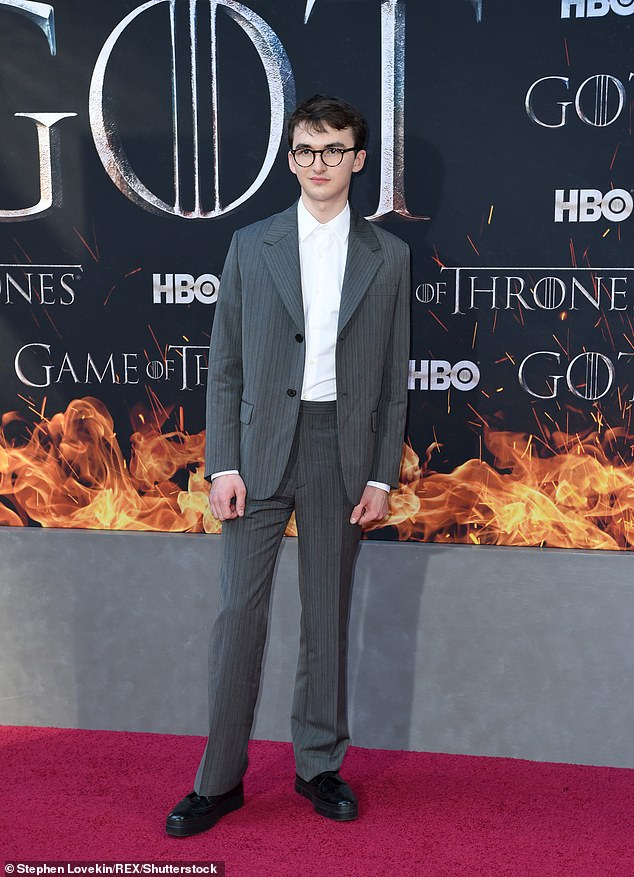 Not impressed: Game of Thrones star Isaac Hempstead has accepted the petition to reissue the final series of the hit HBO show
