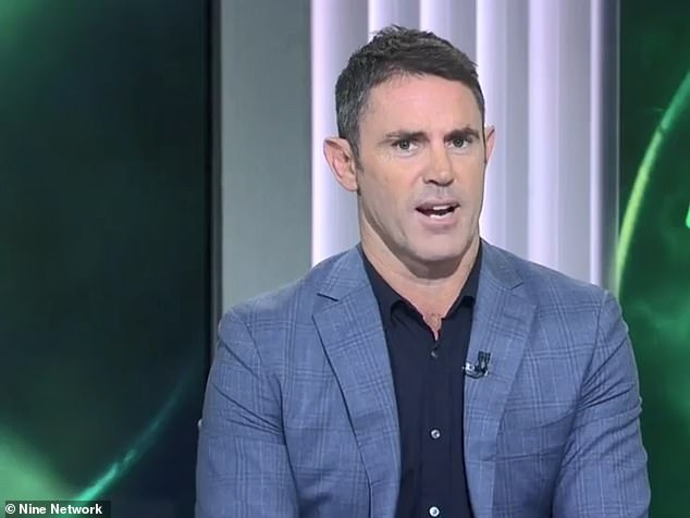 Fittler (pictured) had evidently been attempting to say 'Ben Hunt can' but accidentally muddled the words