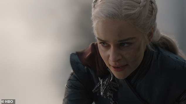 Outrage: Viewers were seething as they watched Daenerys Targaryen (Emilia Clarke) become the 'Mad Queen' and murder thousands of innocent people in King's Landing last week