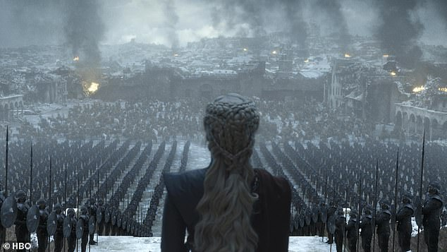 Upset:The emotional tributes come after Sophie confessed a lot of people will be 'upset' by the much-anticipated finale of the epic when it airs on Sunday