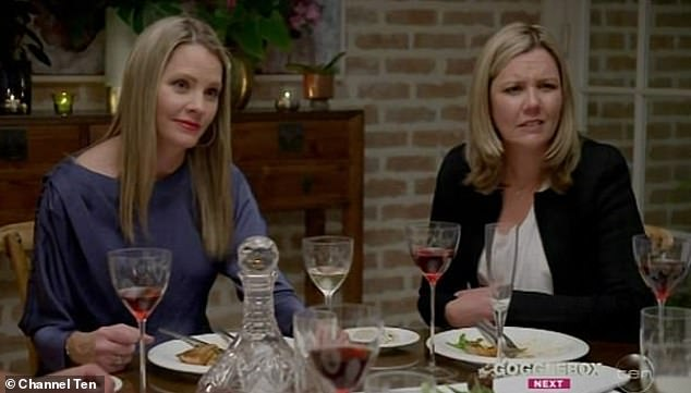 No deal? The 45-year-old millionaire claimed that during a family dinner episode, his sister Justine (left) was instructed by producers to ask Bachelorette Sophie Monk if she was after the family fortune. The question aired, but, 'My sister didn't ask the question' Stu claimed
