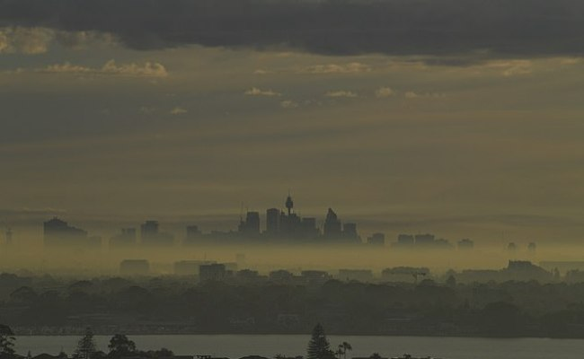Major Health Warning Is Issued After Sydney Is Blanketed