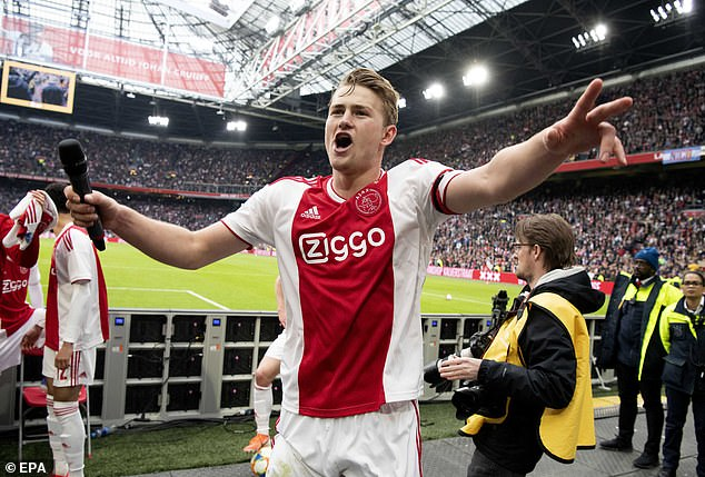 Ajax star Matthijs de Ligt is currently the most in-demand defender in world football