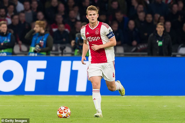 De Ligt is now one of football's most in-demand players with a host of elite clubs wanting him
