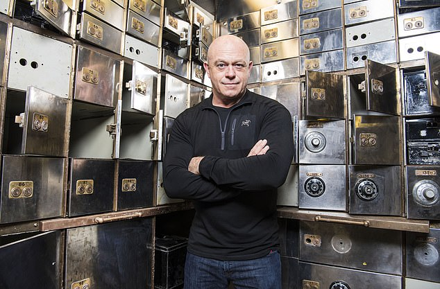 Ross Kemp, pictured, is presenting the ITV documentary -Hatton Garden: The Inside Story - which airs tonight at 9pm