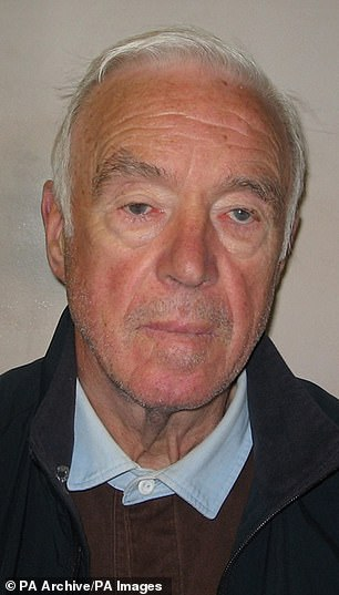 Colins said mastermind Brian Reader, 80, pictured, 'may have got them caught' after he abandoned the job halfway through