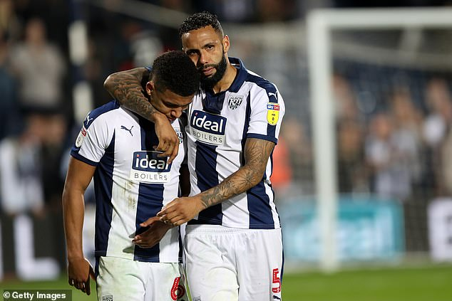 Kyle Bartley (right) is pushing for Premier League football as he impresses in West Brom
